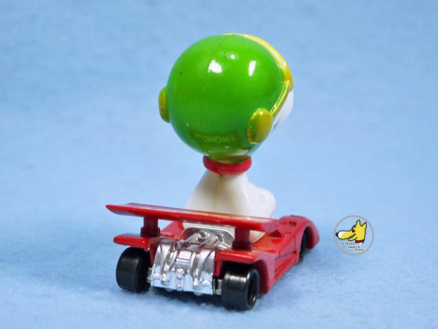 ビンテージ Aviva 1970〜80's スヌーピー Mini Diecast ミニダイキャスト Red Racer 2個セット