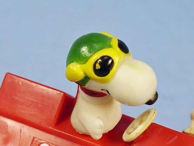 ビンテージ Aviva '77  スヌーピー Motorized Toy  5台セット