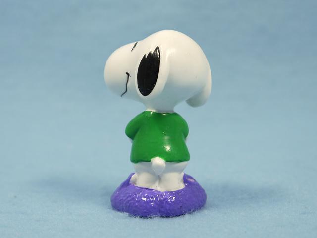 ビンテージ Whitman's  '99  スヌーピー PVC フィギュア Easter バニースリッパ