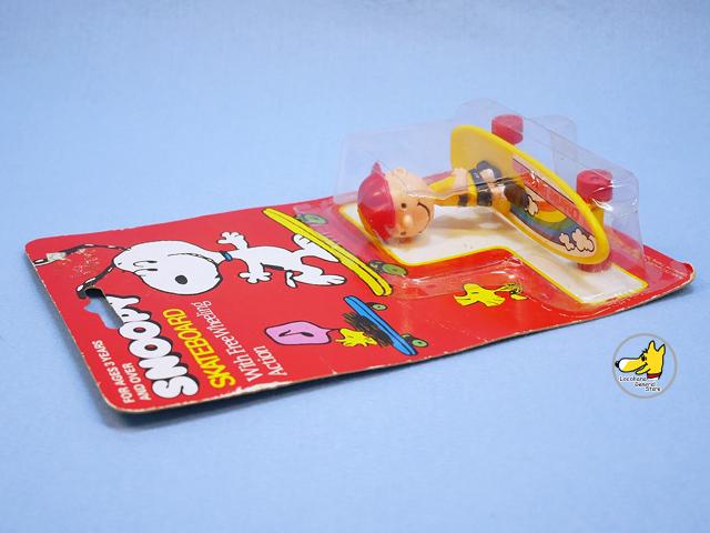 ビンテージ ITT '80s  スヌーピー  Skateboard チャーリー パッケージ入