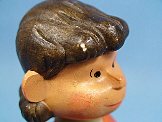 【送料無料】ビンテージ ANRI 70' スヌーピー オルゴール Lucy ルーシー