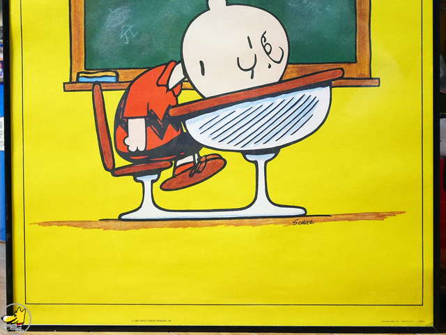 ビンテージ Hallmark '70s  スヌーピー Poster チャーリー ポスター
