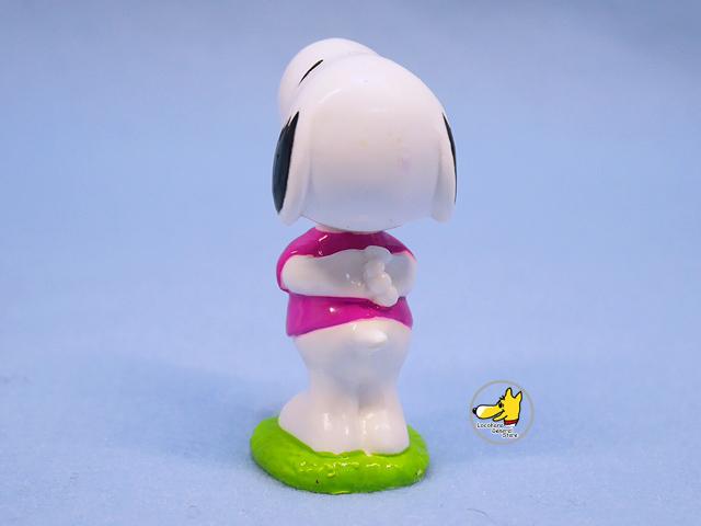 ビンテージ Whitman's  '01  スヌーピー PVC フィギュア Valentine Kiss Me