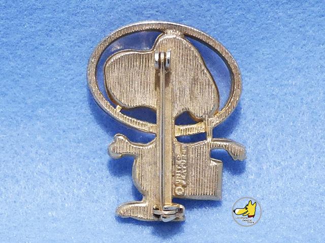 ビンテージ Aviva '72  スヌーピー アストロノーツ Pin