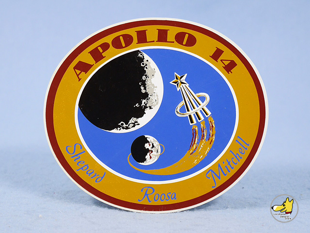 ビンテージ '71    NASA ステッカー APOLLO 14