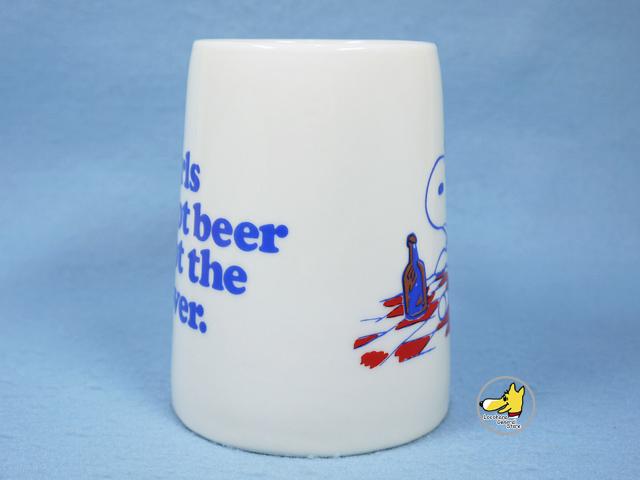 ビンテージ Determined '70s  スヌーピー Mug マグ フライングエース