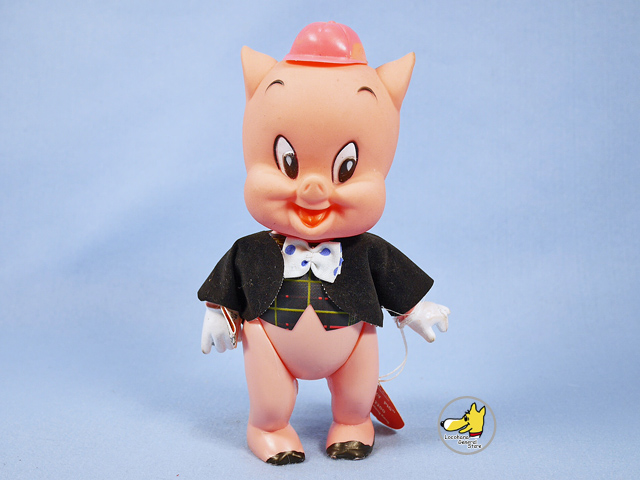 ビンテージ DAKIN '68 LOONEY TUNES Porky Pig  ポーキー ピッグ 袋入