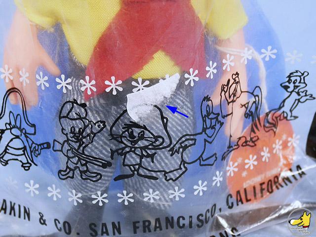 ビンテージ DAKIN '68 LOONEY TUNES Yosemit  Sam  ヨセミテサム 袋入