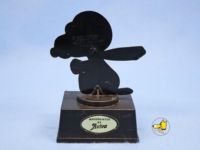 ビンテージ Aviva 1970〜80's スヌーピー トロフィー WORLD'S GREATEST