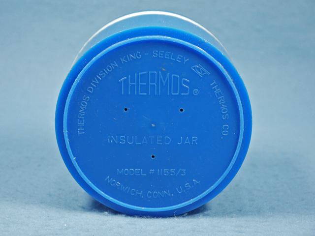 ビンテージ Thermos '70s  スヌーピー  チャーリーブラウン ジャー ブルー