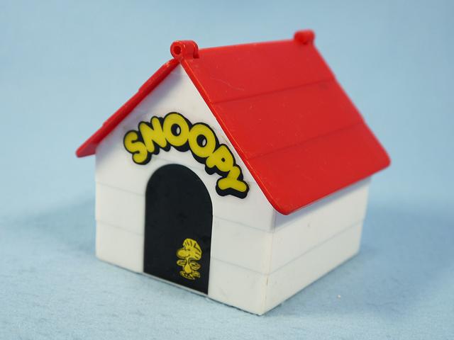 ビンテージ Aviva  '79   スヌーピ POP-UP TOY ウッドストック