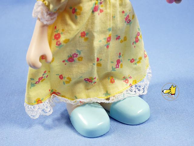 ビンテージ Knickerbocker  '83  スヌーピー Dress-Up Doll ベル Night  Gown