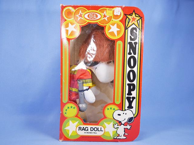 ビンテージ IDEAL  '77  スヌーピー Rag Doll Rock Star ロックスター 箱入