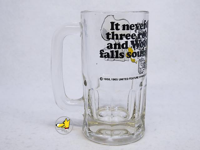 ビンテージ スヌーピー '80s Root Beer Mug ルートビアマグ �
