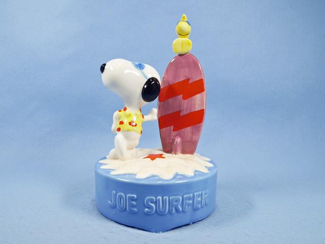 ビンテージ Willitts  '89  スヌーピー オルゴール Joe  Surfer