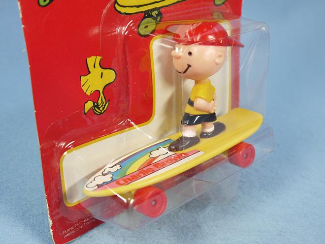 ビンテージ ITT '80s  スヌーピー  Skateboard スヌーピー・チャーリー・ウッドストック 4個セット