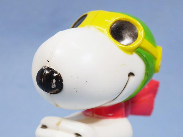 ビンテージ AVIVA  '79  スヌーピー  PEANUTS Motorized Toy 3個セット
