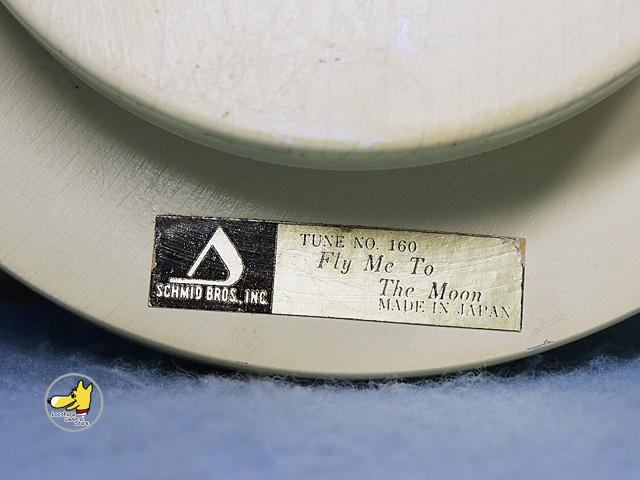 ビンテージ Schmid  '71  スヌーピー アストロノーツ オルゴール