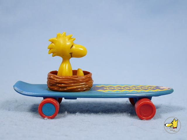 ビンテージ Aviva  '70s  スヌーピー Skateboard  Woodstock