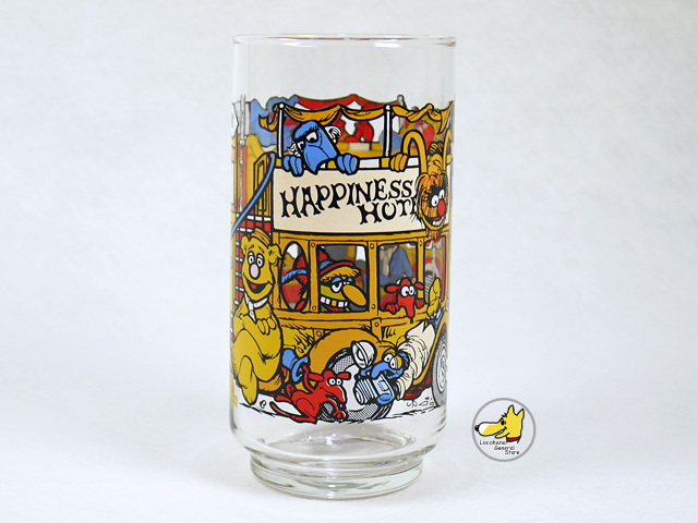 ビンテージ マクドナルド '81 Hppiness Hotel  ハピネスホテル グラス