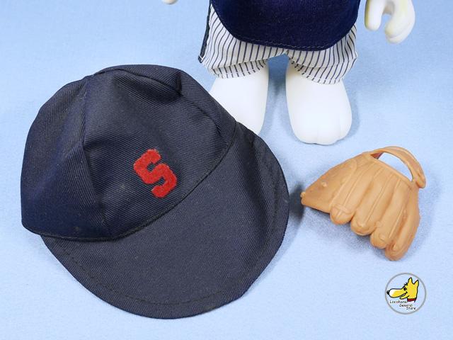 ビンテージ Determined '82  スヌーピー コレクタードール ベースボール