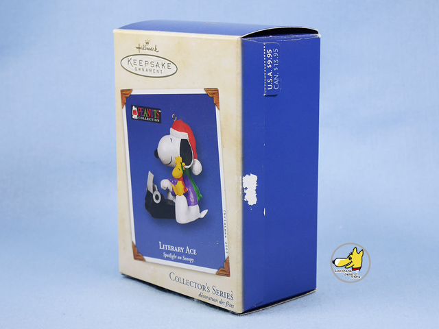 ビンテージ Hallmark '02 スヌーピー   Ornament   オーナメント タイプライター 箱入