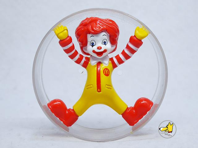 Mcdonald's '10 ミールトイ Baby Ronald ベビーロナルド 回転