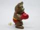 ビンテージ '79 PVCフィギュア モスクワオリンピックマスコット ミーシャ ボクシング