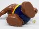 ビンテージ '79 PVCフィギュア モスクワオリンピックマスコット ミーシャ 円盤投げ