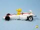 ビンテージ Aviva 1970〜80's スヌーピー Mini Diecast ミニダイキャスト ウッドストック IN Racer