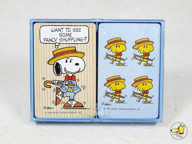 ビンテージ Hallmark '80s スヌーピー PLAYING CARDS トランプ 2個セット