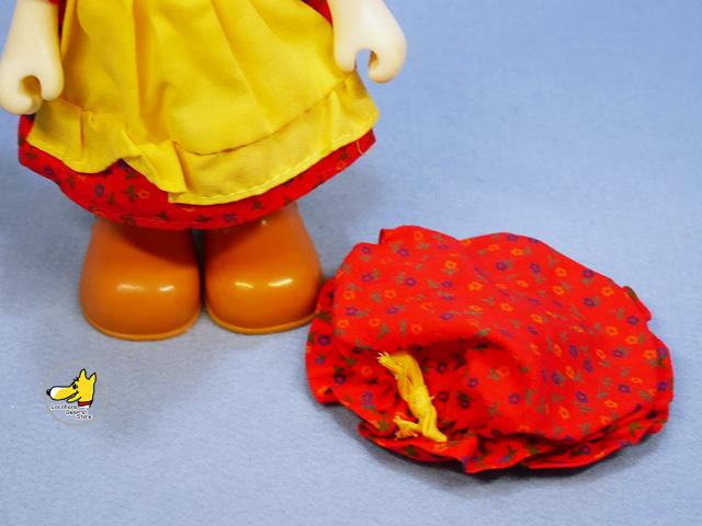 ビンテージ Knickerbocker '83 スヌーピー Dress-Up Doll ベル  Old Fashioned