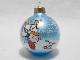 ビンテージ Hallmark '89 スヌーピー Ball  Galss  Ornament  ボール ガラス オーナメント 25th Anniversary