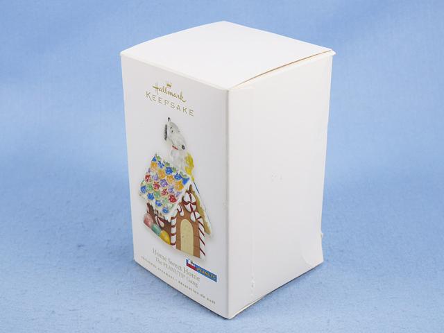 ビンテージ Hallmark スヌーピー Ornament オーナメント スヌーピー&スイートホーム 箱入