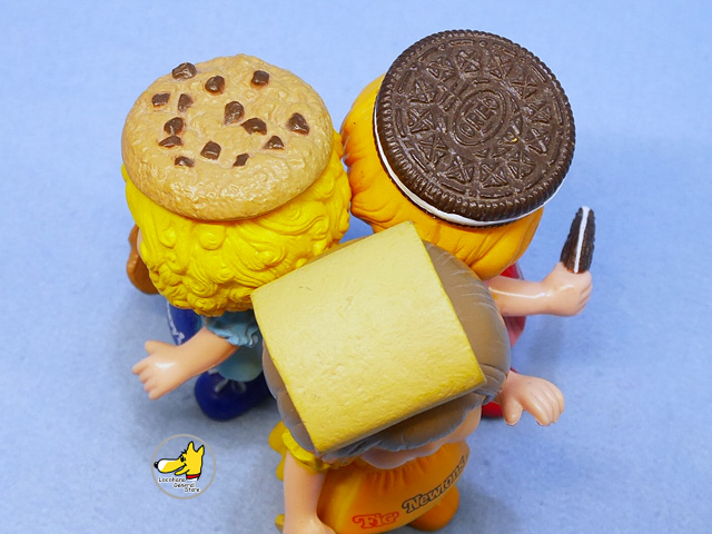 ビンテージ '83   NABISCO OREO・Fig Newtons・Chips Ahoy! Doll 3個セット