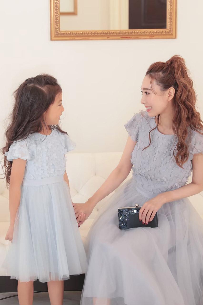 Chi Chi Girls  3Dフラワーチュールドレス 3-11歳 CG52229LB