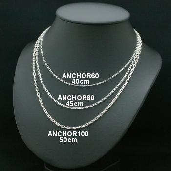 Lono ハワイアンジュエリー チェーン ANCHOR 60