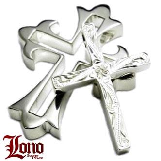 Lono ハワイアンジュエリー クロスペンダント PC039S