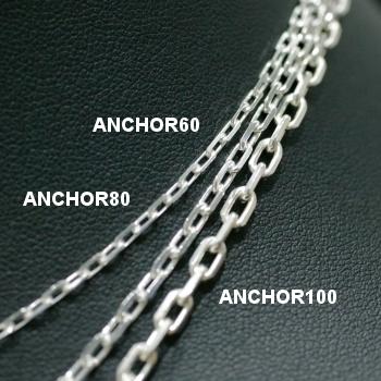 Lono ハワイアンジュエリー チェーン ANCHOR 80