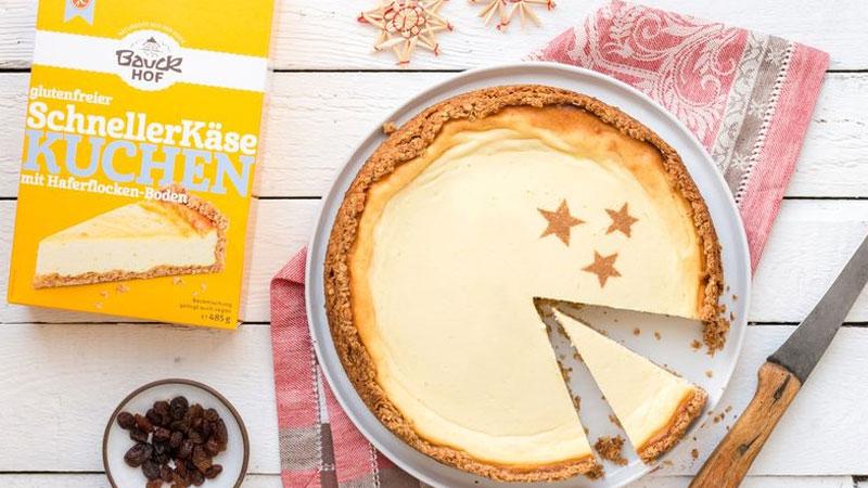【おうちカフェ】有機グルテンフリー(バニラ・チーズ)ケーキミックスでヘルシーおやつ(各2枚分)
