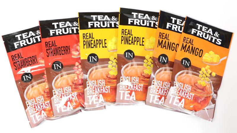 果実ごろごろ!食べる紅茶18袋【おうちカフェ】ドライフルーツの歯ごたえが楽しめる!