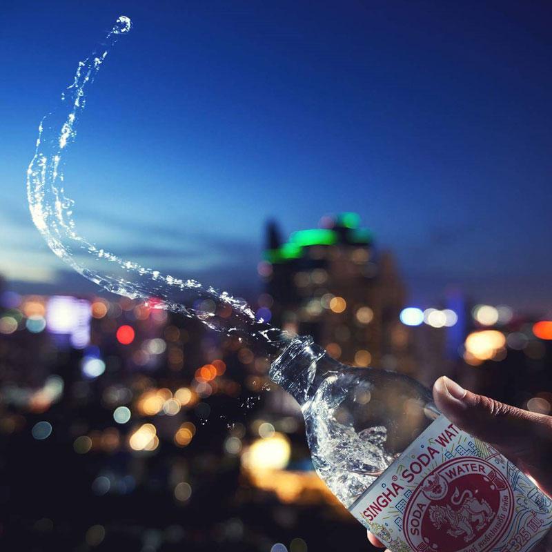 7/25まで期間限定【アジアで大人気 】シンハーソーダ/きめ細やかな強炭酸水(メーカー直送送料無料)