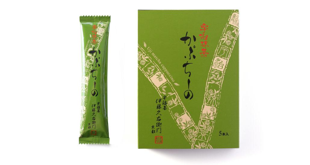京都をおうちで。【伊藤久右衛門】「かぷちーの」でひといき。2箱セット