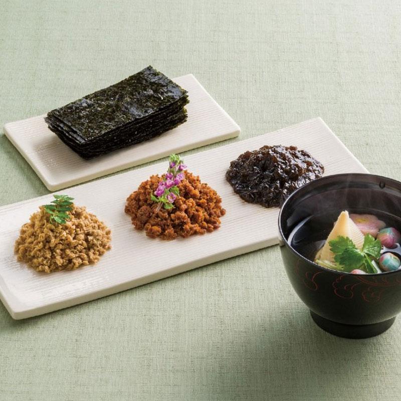 あったかご飯のお供に欠かせない【ヤマキ】のり・佃煮・おだしセット(送料無料)