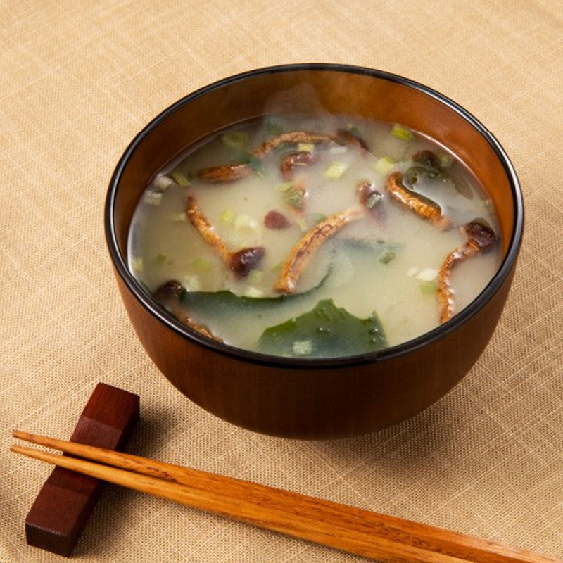 【幻のキノコ 】博多すぎたけ お湯をかけるだけで簡単お味噌汁/ 20食分(送料無料)