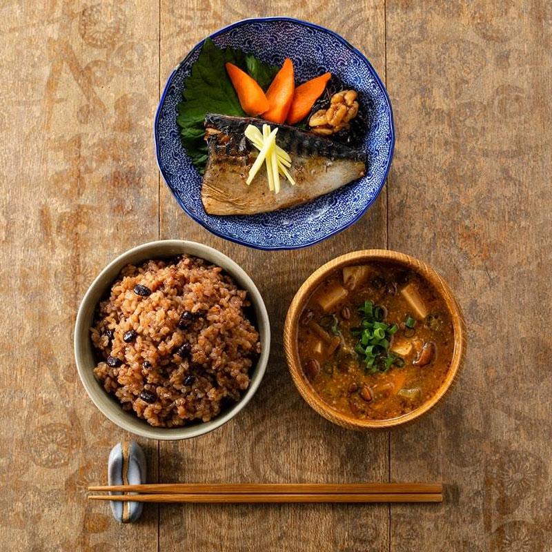 玄米なのに、もっちもち?!5種のブレンドで楽しく美味しく健康に/12食セット
