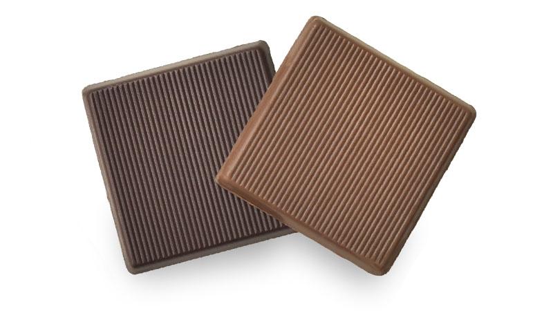 【差し入れ上手】超高級チョコレート(1枚23円!)ミルクorダーク 100枚入り(送料無料)