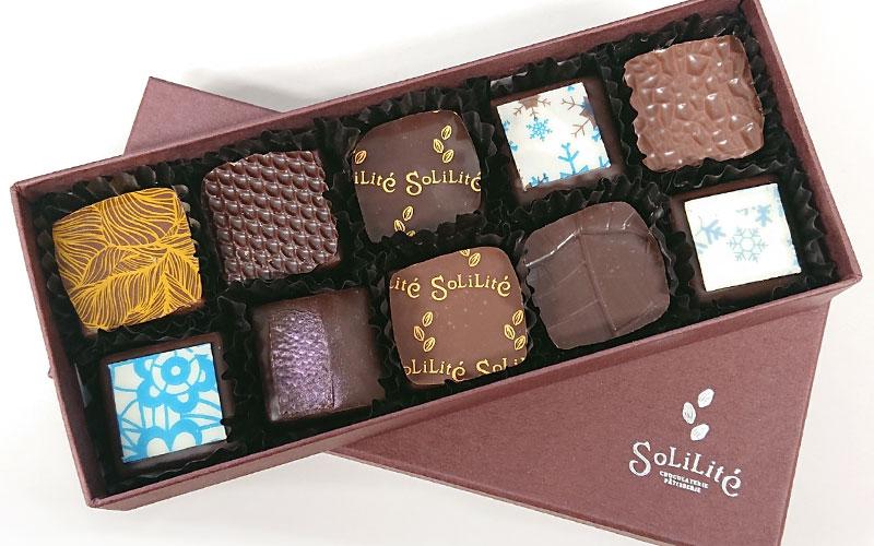 【寄付つき商品】チョコロスを、救おう【SoLiLite】チョコ10個セット
