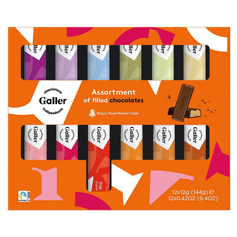 【ベルギー王室御用達】フレーバーミニチョコバー36本セット(12本入×3箱)【送料無料】
