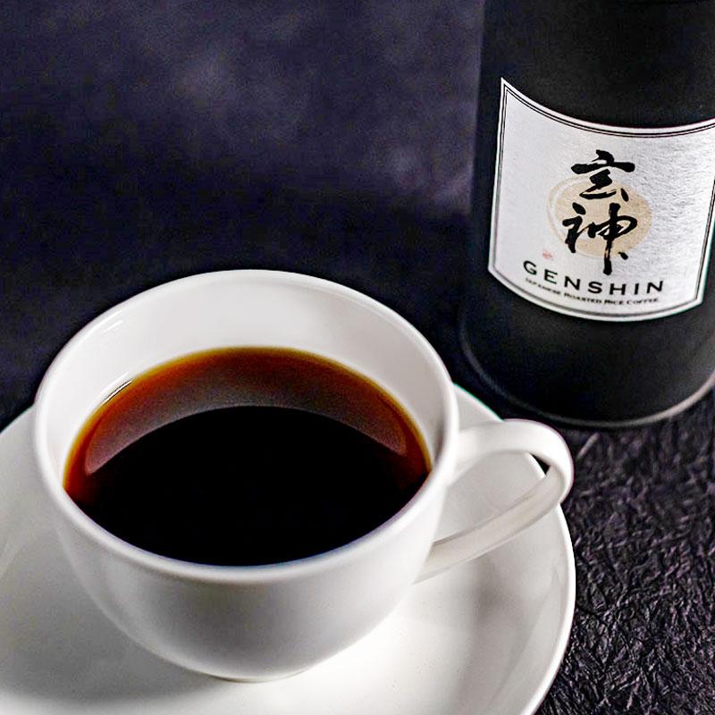 【ノンカフェイン】体に優しい玄米コーヒー【テトラバッグ8個入り】水出しでも美味しい!